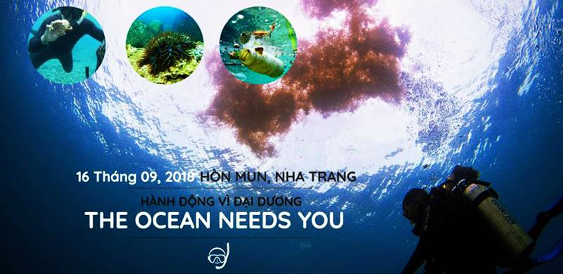 Hành động vi đại dương 2018 tại Hòn Mun, Nha Trang