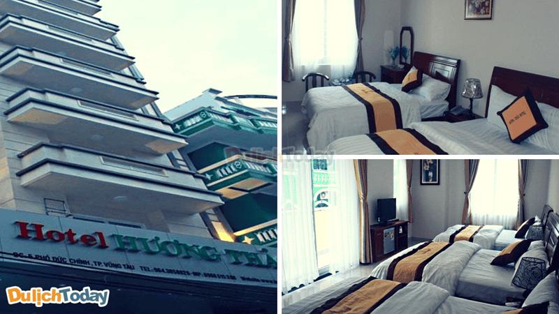 Các phòng có thiết kế đơn giản, sạch sẽ mang lại cảm giác thoải mái cho du khách