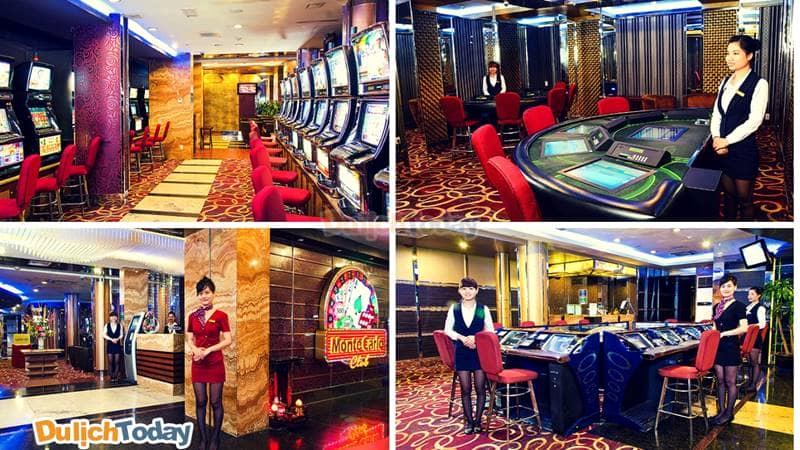 Câu lạc bộ trò chơi có thưởng Monte Carlo sang trọng phục vụ nhu cầu giải trí của các vị thượng khách