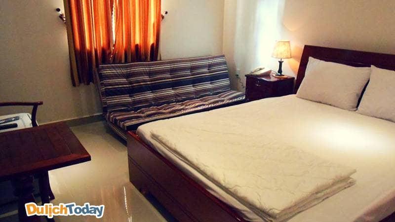 Không gian riêng tư tại mỗi phòng nghỉ Côn Sơn Island hotel