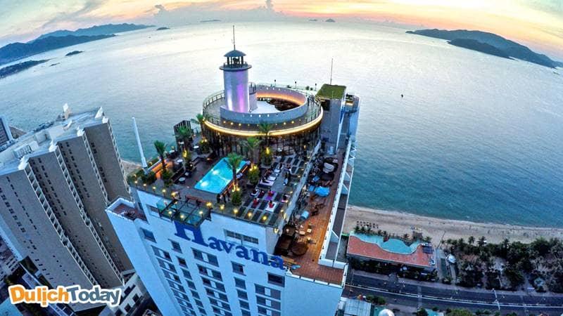 Skylight Nha Trang nhìn từ trên cao