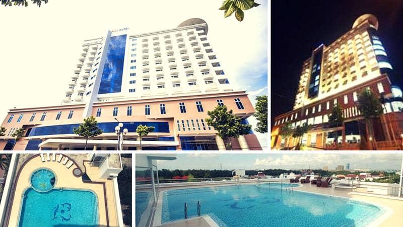 Khách sạn Nemo là một trong những biểu tượng mới của thành phố Phú Mỹ, Bà Rịa Vũng Tàu
