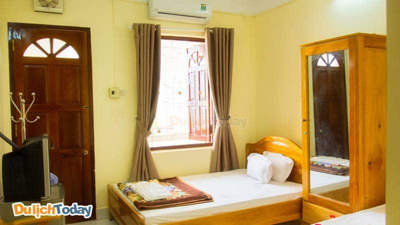 Nhà nghỉ 378 Bộ Công An Nha Trang được quản lý bởi Cục Y tế, phòng ngủ đảm bảo vệ sinh, ngăn nắp và đầy đủ tiện nghi