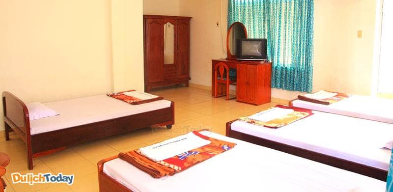 Phỏng ngủ tại nhà nghỉ Hải Quân Nha Trang có chất lượng không tệ với giá tiền từ 150.000 vnđ/đêm