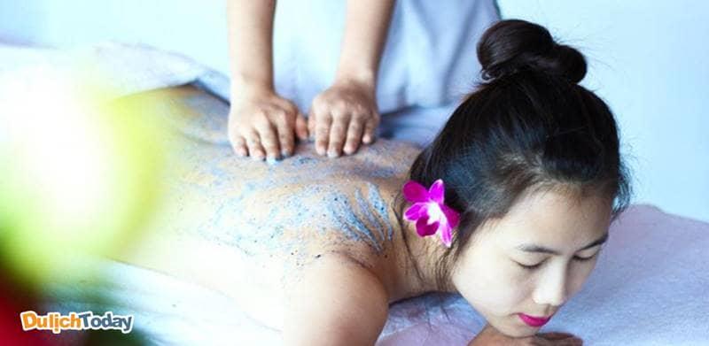 Xả stress và thư giãn cơ thể cũng như tinh thần tại In Balance Spa
