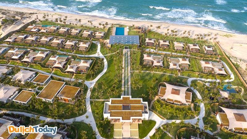 Fusion resort là một trong những resort đẹp ở bãi Dài Nha Trang