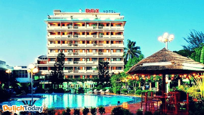 Khách sạn Rex là một trong những khách sạn 3 sao nổi tiếng nhất Vũng Tàu
