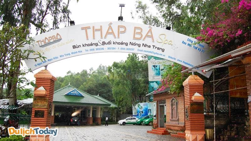 Khu VIP Tháp Bà Spa TP. Nha Trang Khánh Hòachuyên tắm bùn và tắm khoáng nóng thiên nhiên