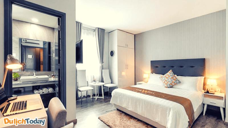 Mỗi căn phòng tại The Wind Moutain side luôn mang đến cho bạn cảm giác thư thái với đầy đủ tiện nghi nhất