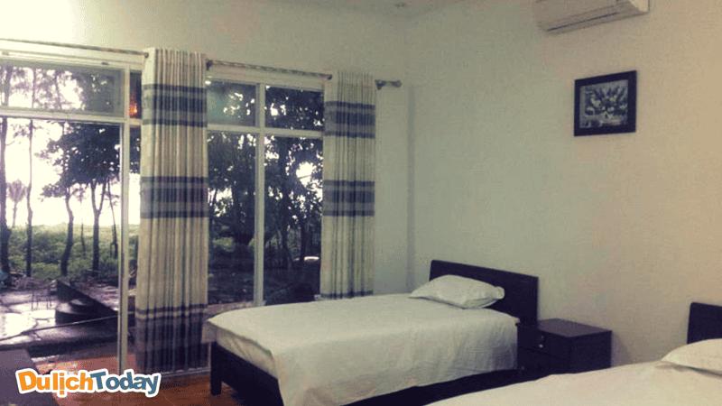 Phòng nghỉ tại Thiên Tân Star khá sạch sẽ và thoáng mát