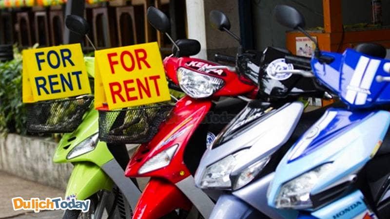 Sanho Việt cho thuê xe với mức giá vô cùng phải chăng từ 50.000 vnđ