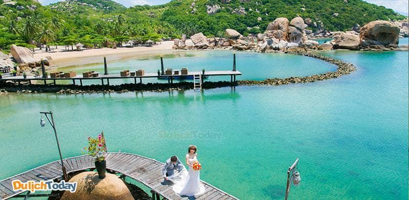 """Bình Lập là hòn đảo """"thiên đường"""" với khung cảnh thiên nhiên hoang sơ và biển cả bao la"""