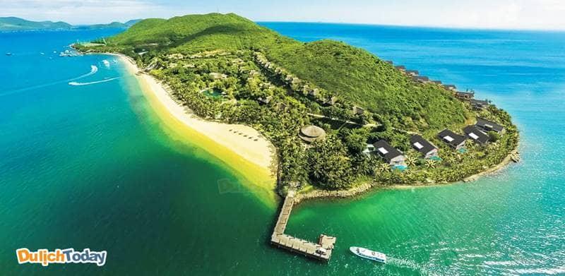 Hòn Tằm - nơi nghỉ dưỡng được thiên nhiên ban tặng giữa vịnh Nha Trang
