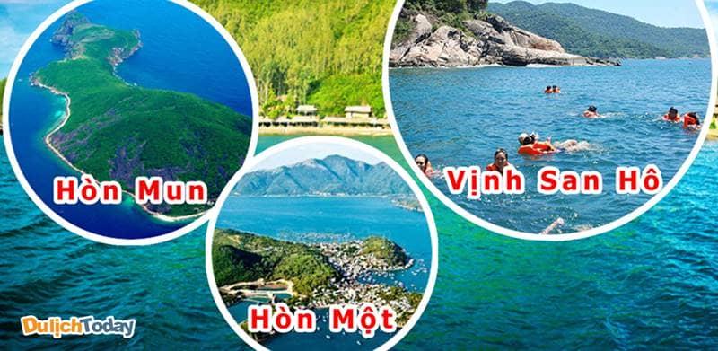 Tour 3 đảo tham quan quanh vùng vịnh Cam Ranh hấp dẫn rất nhiều du khách