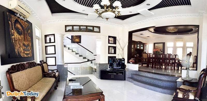 Nội thất đầy đủ tiện nghi tại An Villa