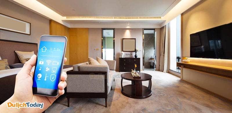 Các biệt thực tại Ocean Front Villas sử dụng công nghệ Smart City - tự động hóa để vận hành và quản lý