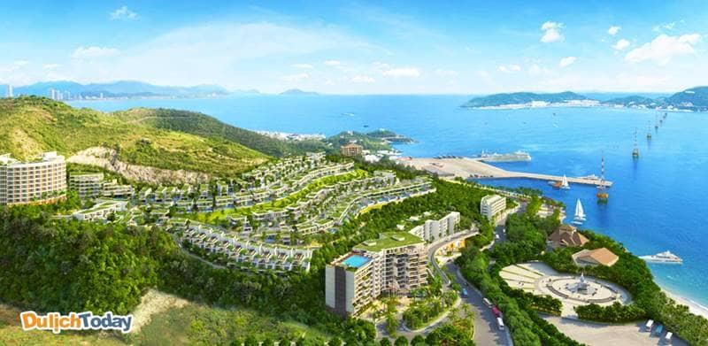 """Toàn cảnh chuỗi biệt thự biển Nha Trang Ocean Front Villa với địa thế """"dựa núi - hướng biển"""""""