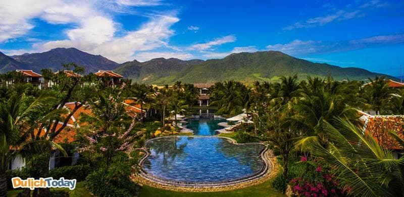 Chuỗi biệt thự cao cấp tại The Anam Villa Nha Trang mang đến không gian Đông Dương cổ xưa - sang trọng và thanh lịch
