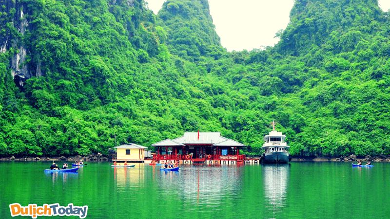 Trung tâm Văn hóa nổi Cửa Vạn, Vịnh Hạ long