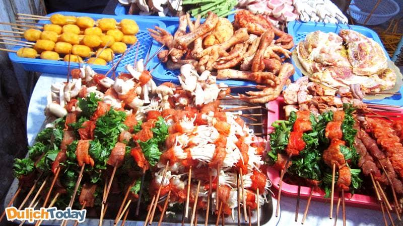 Đa dạng các món nướng ở Sa Pa