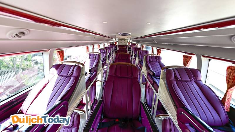Xe giường nằm là phương tiện xe khách phổ biến nhất để đi du lịch Sapa tự túc