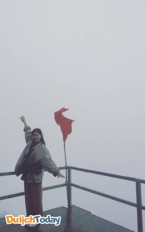 Cổng trời những khi sương mù che phủ khắp nơi
