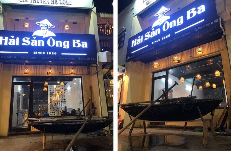 Cửa hàng hải sản khô gia truyền Hạ Long - Hải Sản Ông Ba