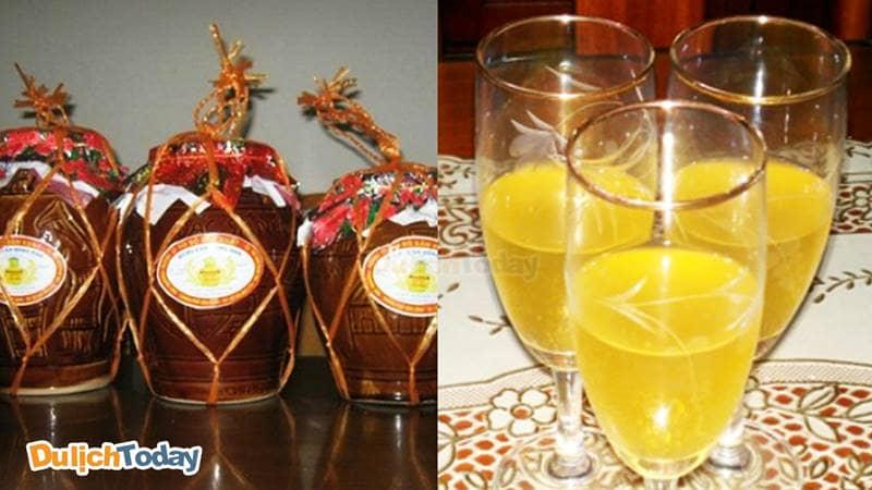 Rượu nếp ngâm Hoành Bồ là đặc sản Hạ Long dành cho cánh mày râu