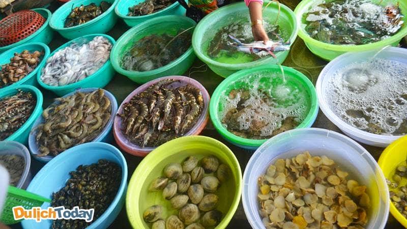 Hải sản tươi sống - đặc sản Hạ Long không thể bỏ qua khi du lịch biển