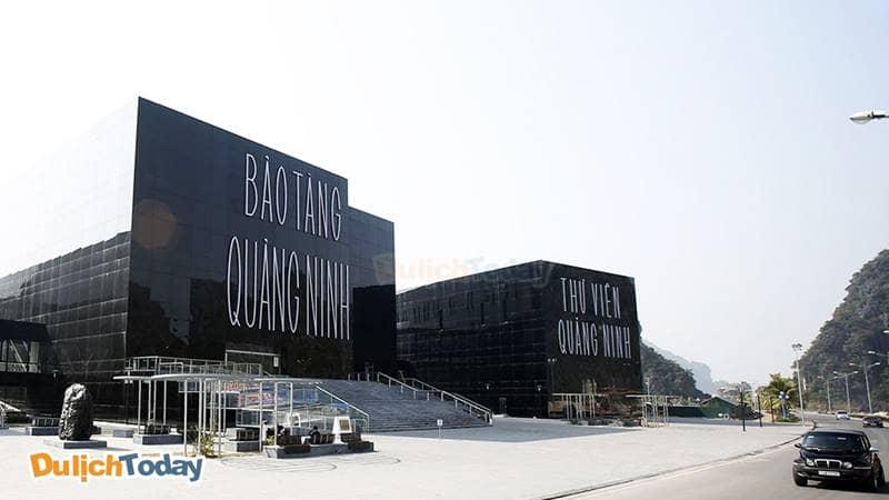 Bảo tàng Quảng Ninh với thiết kế dộc đáo màu đen tuyền
