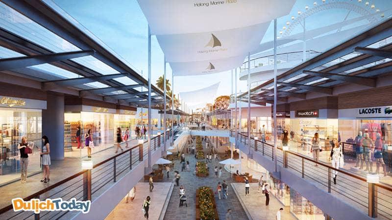 Nhân tiện tham quan khu trung tâm thương mại Marine Plaza