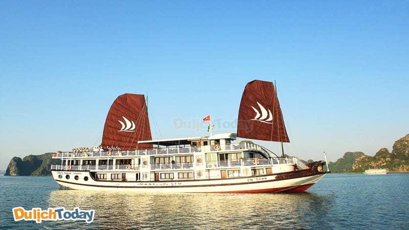 Glory Legend là du thuyền Hạ Long tốt nhất trong hạng 4 sao