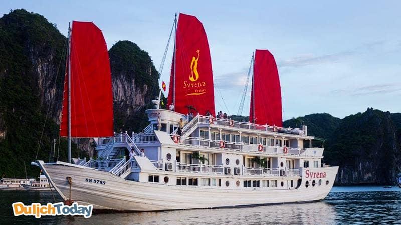 Syrena Cruise là sự hài hòa giữa nét truyền thống Việt Nam và sự hiện đại phương Tây