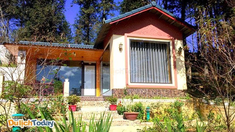 Villa tại Garden có thiết kế nhỏ xinh