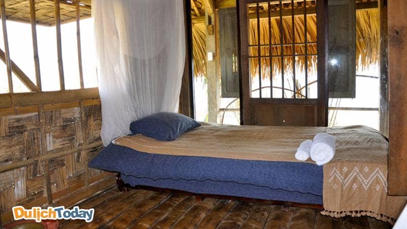Nột thất bên trong bungalow ở Hmong Mountain Retreat