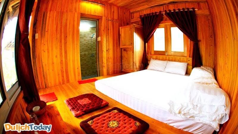 Po Homestay phù hợp với du khách mong muốn được nghỉ dưỡng