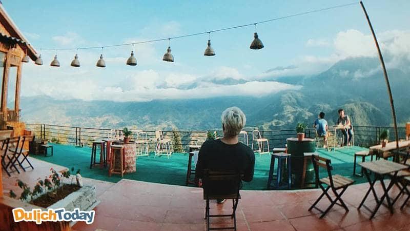 Góc sống ảo với view cực chất cho du khách