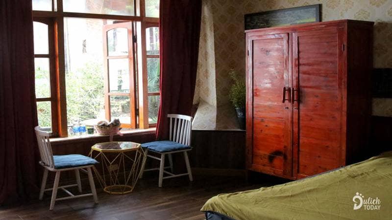 Phòng nghỉ tại Catcat homestay Sapa