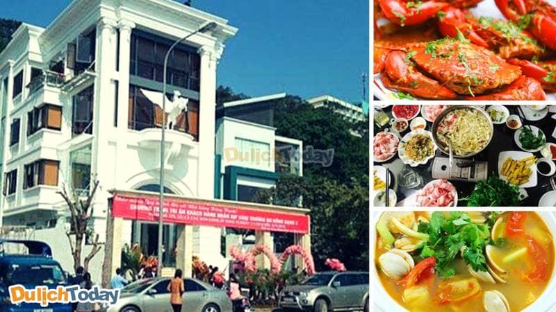 Hồng Hạnh 3 là nhà hàng chuyên về lẩu bò, hải sản tươi sống khá nổi tiếng tại Hạ Long