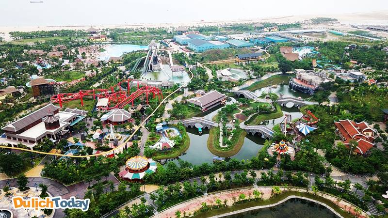 Sun World Halong Complex - tổ hợp vui chơi giải trí quy mô lớn