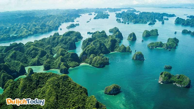 Vịnh Hạ Long - 1 trong 7 kỳ quan Thiên nhiên Thế giời