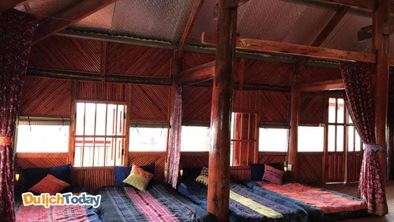 Homestay với phòng tập thể được nhiều nhóm bạn ưu tiên lựa chọn để tiết kiệm chi phí khi đi du lịch Sapa tự túc