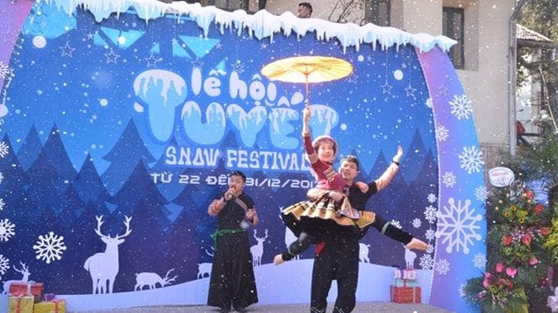 Lễ hội tuyết Sapa 2018