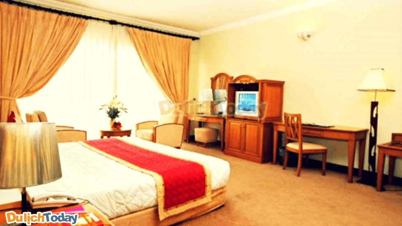 Mỗi phòng tại motel Thanh Kiều khá rộng, thoải mái