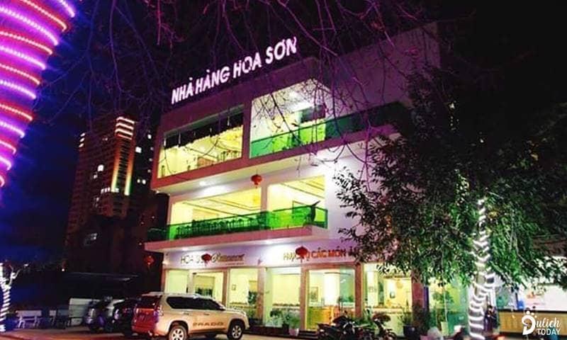 Nhà hàng Hoa Sơn nổi tiếng khu vực Bãi Cháy