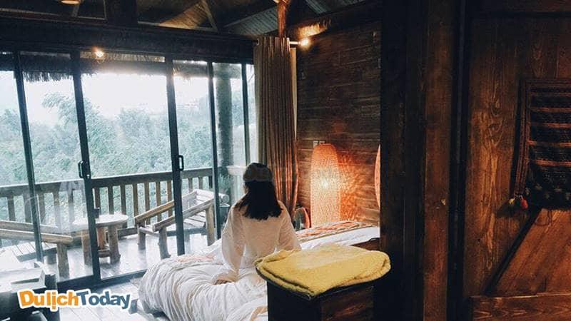 Cùng với người thương tận hưởng những giây phút lãng mạn tại resort Sapa Jade hill