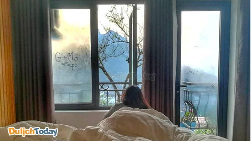 Tận hưởng cái lạnh của khí trời Sapa ngay từ giường ngủ