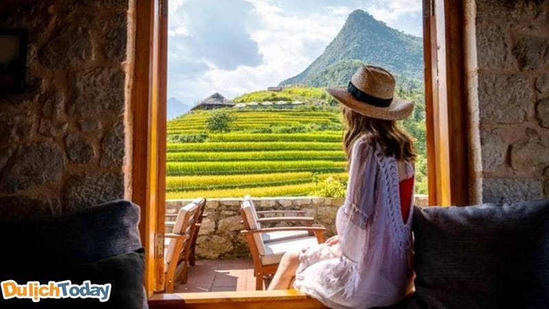 Thưởng thức cảnh đẹp của Sapa khi nghĩ dưỡng tại các resort