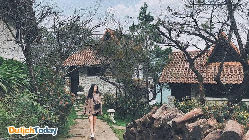 Chụp ngoại cảnh ở Jade Hill resort ở Sapa