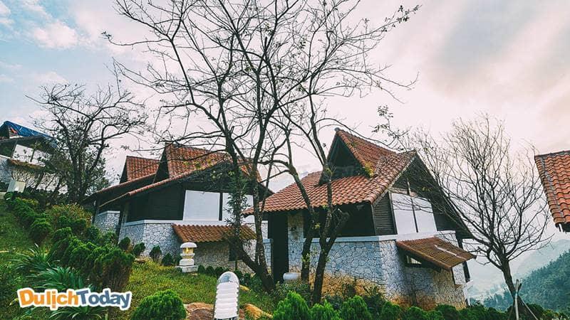 Resort sapa Jade hill giống như một ngôi làng cổ của Châu Âu